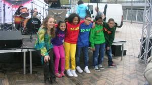 Z.O. Kidz bevrijdings festival Amsterdam