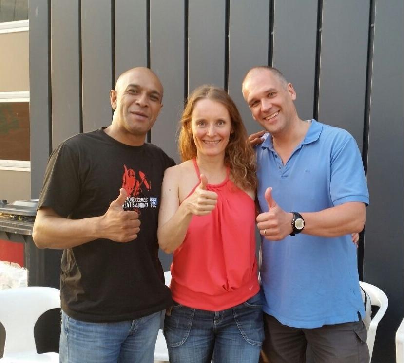 Aug 2014 Jay Tee, Simone en Edwin