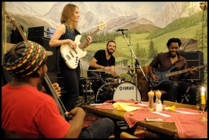 Jamming with Victor Wooten and Armand Sabal-Lecco