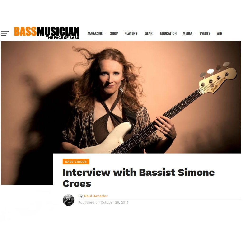 https://bassmusicianmagazine.com/2018/10/interview-with-bassist-simone-croes/